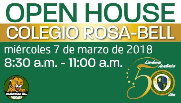 Open House 7 de marzo 2018
